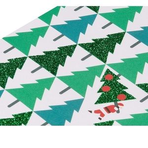 Papyrus Christmas Card trees paper banner lot
